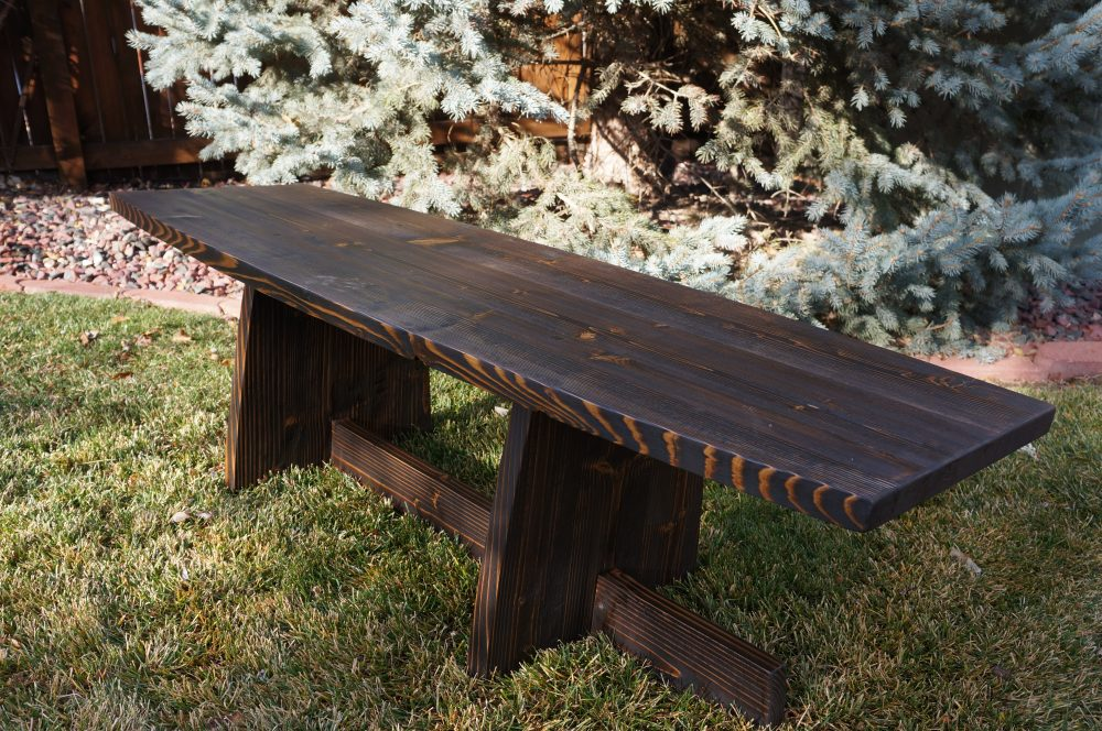 Nakashima Style Coffee Table / Bench