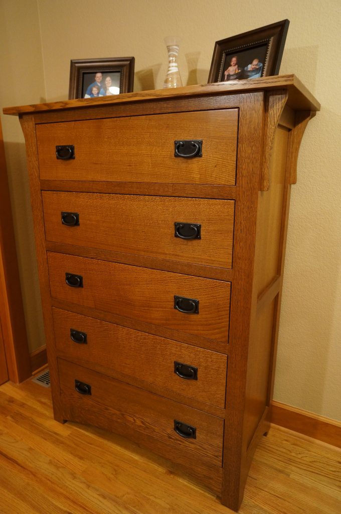 Stickley Inspired Dresser Made With Quarter Sawn White Oak Furniture Gallery